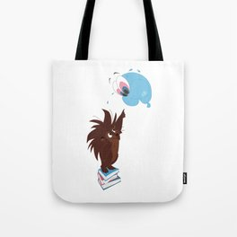 Porcupine and Balloon Tote Bag