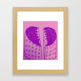 Heartbreak Hotel Framed Art Print