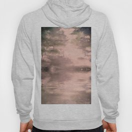 Pink mist pine forest Hoody