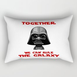 Star - Together we can rule te galaxy - Wars Rectangular Pillow