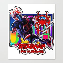 Spiderverse Canvas Print