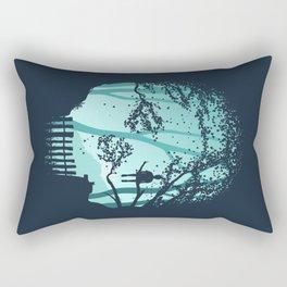 Don't Look Back In Anger Rectangular Pillow