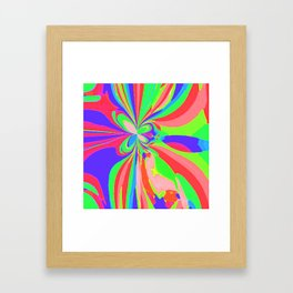 Painted Butterfly Framed Art Print