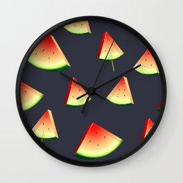 Crystal Watermelon Wall Clock