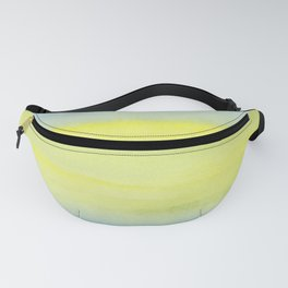 Yellow and Blue Make Green Fanny Pack