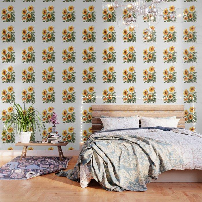 sunflower watewrcolor 2018 Wallpaper