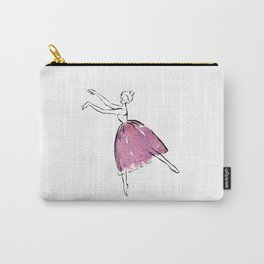 A Ballerina Carry-All Pouch