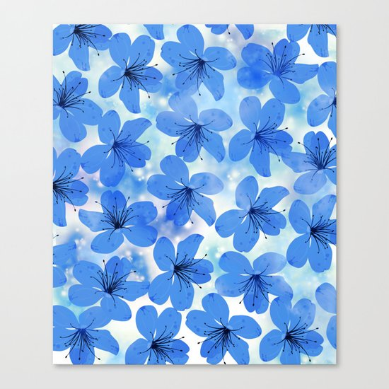 Floral Pattern A Canvas Print