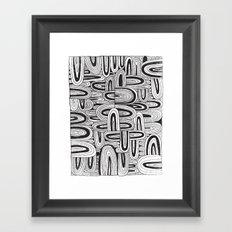 REPEATER Framed Art Print