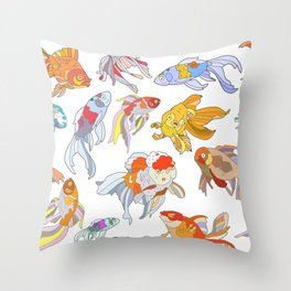 FISH FISH FISH Throw Pillow