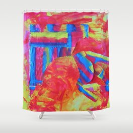 Infra-Red Memories Shower Curtain