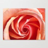 aperture Canvas Prints featuring Rose Aperture by Lita Mikrut