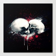 Death Lovers Canvas Print