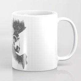 Black Fullface Coffee Mug