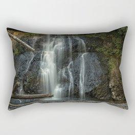 Upper North Falls, Late Summer, Vertical Rectangular Pillow