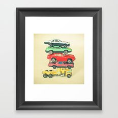 Pile Up Framed Art Print