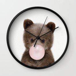 Bubble Gum Bear Cub Wall Clock