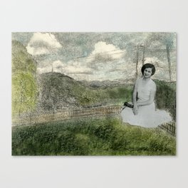 Boli in the Yard Canvas Print