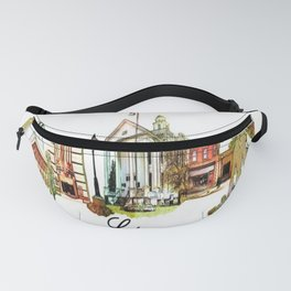 Heart of Lapeer Fanny Pack