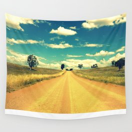 Dirty Back Road Wall Tapestry