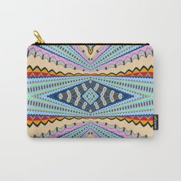 A Gentle Vortex Classic Psychedelica Print Carry-All Pouch