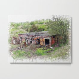 Renovation Required Metal Print