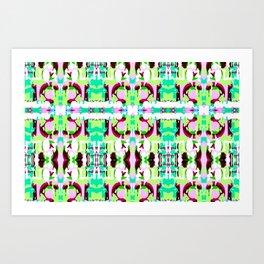 Mozaika4 Art Print