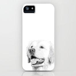 Żaba // Golden Retriever iPhone Case