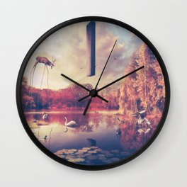 Yearning The Seeds Of A New Dimension Wall Clock