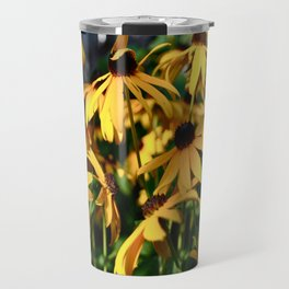 Black and Yellow. Travel Mug