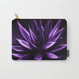 Succulent Plant In Purple Color #decor #society6 #homedecor Carry-All Pouch