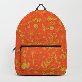Yellow/green + Orange Spring Folliage SS18 Backpack