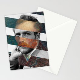 Van Gogh's Self Portrait and Paul Newman Stationery Cards