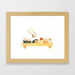 Maki Neko Framed Art Print