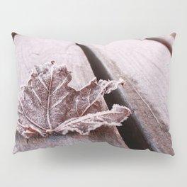 Frosty leaf Pillow Sham