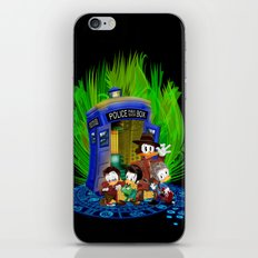 The Doctor Duck 4th 10th 11th and 12th who Tales iPhone 4 4s 5 5s 5c, ipod, ipad, pillow case tshirt iPhone & iPod Skin