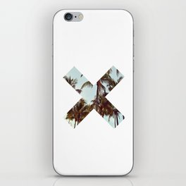 The XX Palm Trees iPhone Skin