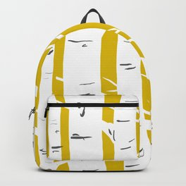 Mustard Birches Backpack