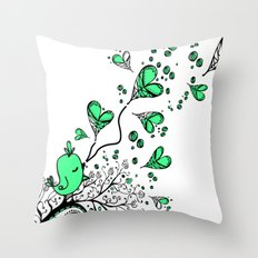 Song about love Throw Pillow