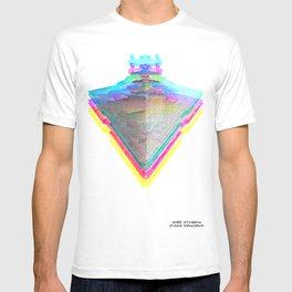 Star Destroyer Star Glitch Wars T-shirt