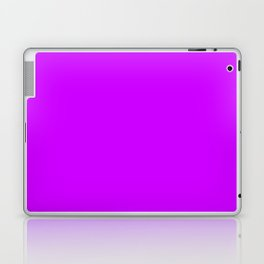 Neon Purple Laptop & iPad Skin