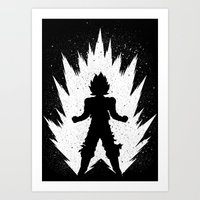 goku Art Prints featuring Goku by Proxish Designs