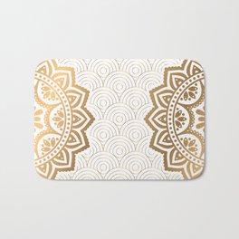 Gold Mandala 13 Bath Mat