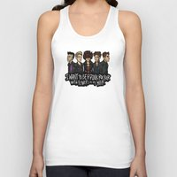 cargline Tank Tops featuring Flowers in my Hair by cargline