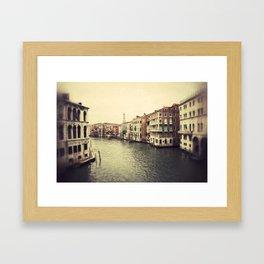 Grand Canal in Venice Framed Art Print