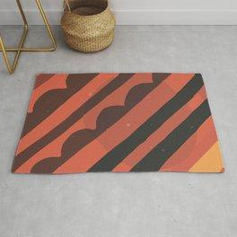 Modern Abstract Art Minimal Texture Bold Graphic Design Background GC-117-14 Rug
