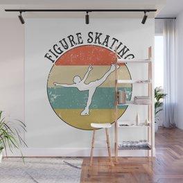 Figure Skating Ice Skater Wall Mural