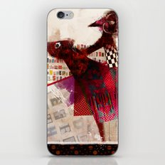 Cavaliere errante iPhone & iPod Skin