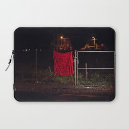 A Good Place To Start, The Unravel, Silk Graffiti by Aubrie Costello Laptop Sleeve