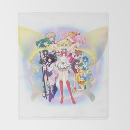Sailor Moon Crystal Season 3 Throw Blanket